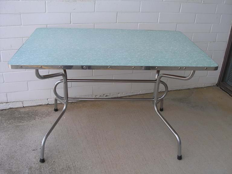 1950s kitchenette table by Tubular Steel Industries