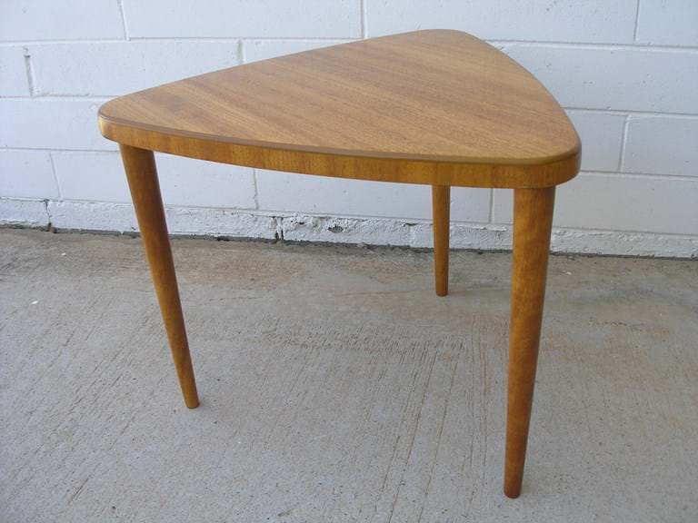 1950s timber side table