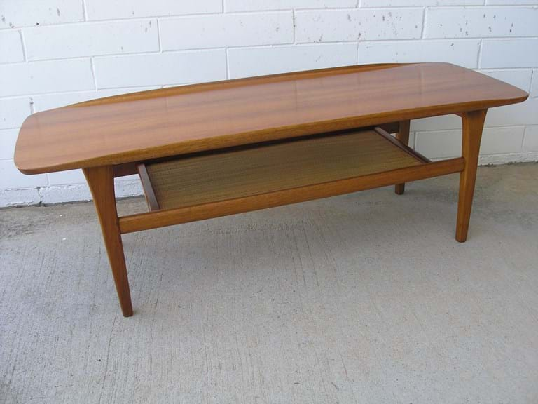 1960s/70s teak coffee table by Burgess Furniture