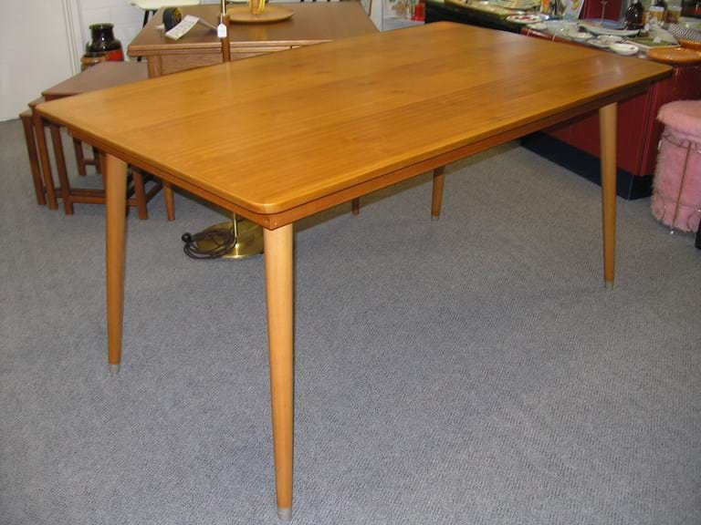 1950s timber dining table