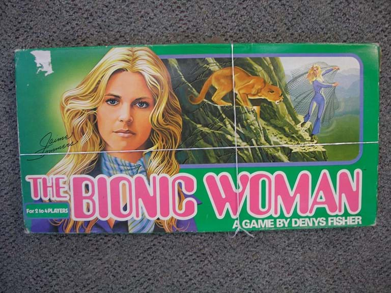 c1975 Bionic Woman board game