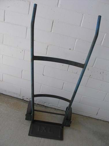 Vintage IXL metal trolley