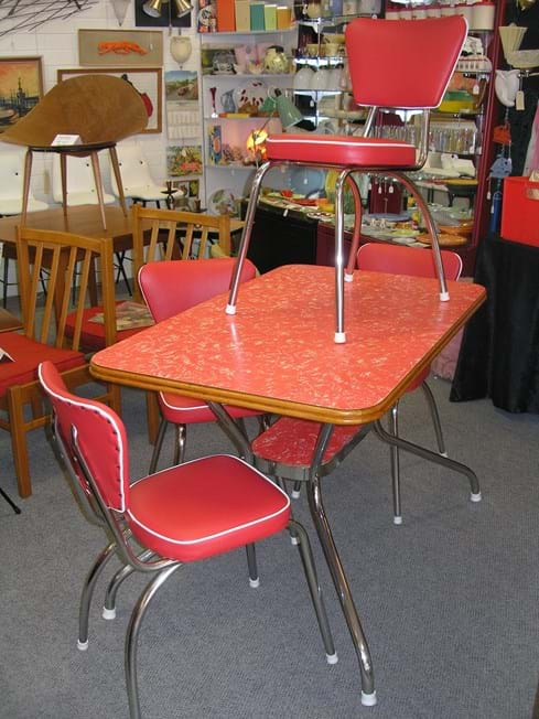 Vintage Dining Kitchen Furniture Sold