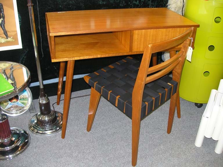 c1950s desk and chair